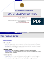07 State Feedback Control