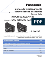 Manual cámara DMC-TZ100 español