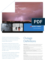 Outage definitions