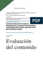Revision Pectina