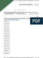 Electrovanne (Réduction Proportionnelle) - Etalonnage - Commande de Débit Négatif