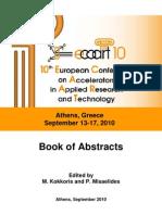 Book of Abstracts ECAART10