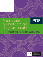 Tablas de Propiedades Termodinámicas de Los Gases Ideales
