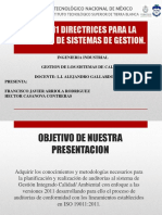 ISO 19011 DIRECTRICES PARA LA AUDITORIA DE SISTEMAS.pptx