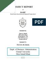 SAARC organization