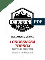 Reglamento Oficial i Crossnosa Torrox