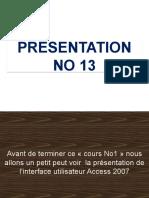 Cours No 1 Presentation No 13