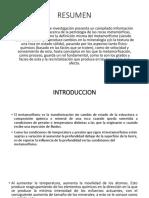 Diapositivas, Primera Parte