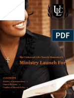 Ministry Launch Forms