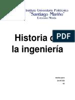 Historia de La Ingeniería
