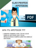 Pengenalan Apoteker FIX