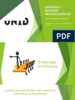 Tarea 1 Liderazgo y Procesos Organizacionales