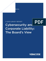 NYSE and Veracode Cybersecurity and Corporate Liability Report