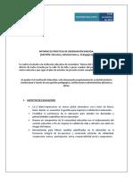 Informe de Prácticas de Observación Dirigida 23