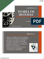 Capitulo 1 Teoría d Sistemas