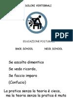 Back School E postura