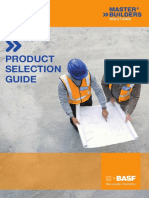 Basf Product Selection Guide