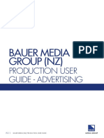 BAUER (NZ) Production User Guide[1]