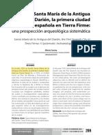 Colonización Del Darién