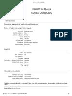 Primer queja en CNDH contra Andres Manuel Lopez Obrador