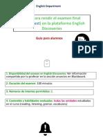 Guía para rendir el examen final en English Discoveries - Guía para alumnos.pdf