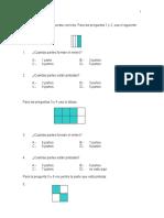 Fracciones Tercero Basico