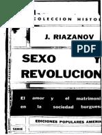 Sexo y Revolucion