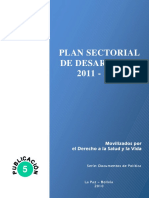 Plan Sectorial de Desarrollo 2011-2015 Metas2020