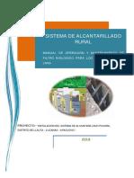 13.4 Manual de Operacion de Filtro Biologico