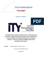 Instituto Tecnológico Informe Universidad de Caiza