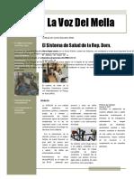 Modelo Periodico Escolar La Voz Del Mella 111