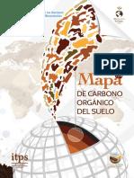 Mapa de Carbono Organico Del Suelo