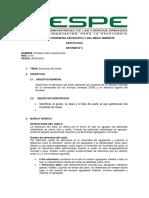 Informe 3 Edafologia, Estructura Del Suelo