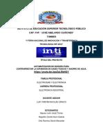 PROYECTO INTI 2016 Automatización de Inodoro