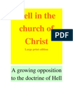 16581598 a Growing Opposition to the Doctrine of Hell in the Church of Christ