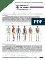 Apostila 01 - Introdução à Anatomia