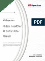 Philips Heartstart Xl Defibrillator Manual