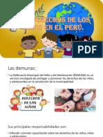 Los Derechos de Los Niños en El Perú