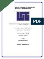 Evaluación de Un Biofiltro Ubicado en La Libertad, Chontales