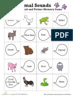 Easy Animal Memory Game