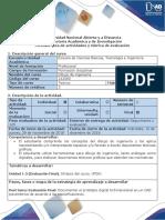 Guia de Actividades y Rubrica de Evaluación - Post Tarea - Evaluación Final
