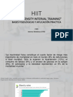 HIIT Ppt bases y protocolo