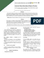 Informe Primera Práctica