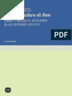 Mauss, Marcel - Ensayo sobre el don (2009, Katz Editores).pdf