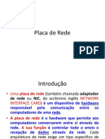 AULA  - Placa de Rede