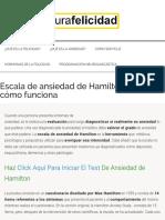 Escala Ansiedad de Hamilton