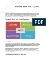 7 Langkah Menyusun Bisnis Plan Yang Baik Agar Sukses
