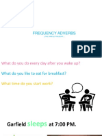 Session 09 Frequency Adverbs