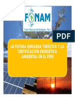 09 La Futura Demanda Turística y La Certificación Energética Ambiental - FONAM