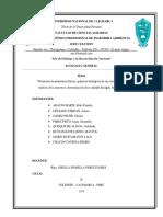 Obtención de Parámetros Físicos Químicos Del Agua